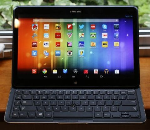 Android duels with Windows 8 on Samsung hybrid