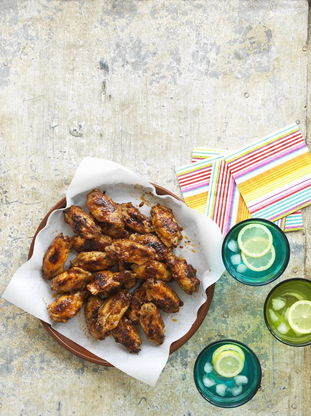Sticky Chicken Nibbles