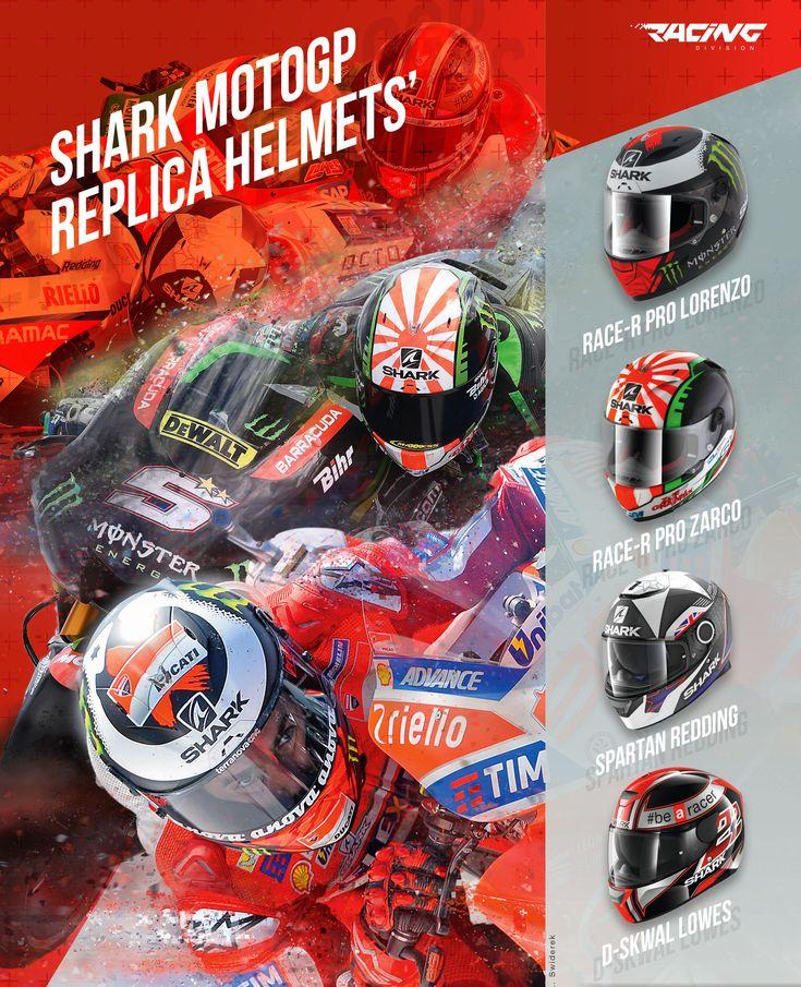 SHARK | Réplicas perfeitas dos pilotos Lorenzo, Zarco, Redding e Lowes  Qual vai escolher? E quais gostaria de ver mais?  Veja todos os capacetes da Racing Division da SHARK.  Se não encontrar o que pretende, entre em contacto com a Lusomotos  #shark #helmets #lusomotos #estilodevida #capacete #Racing #RaceRPro #DSkwal #Spartan #quilómetrosquecontam