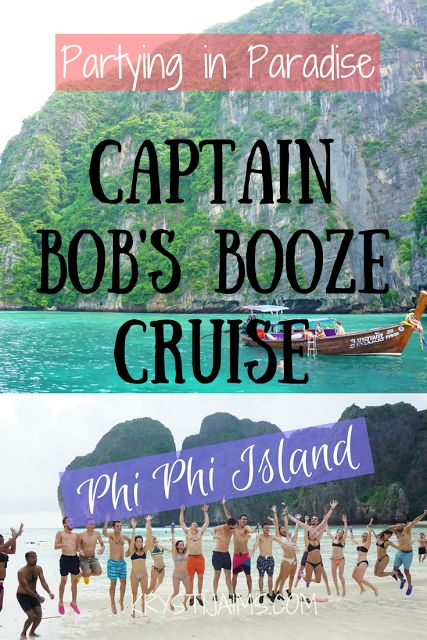 Partying in Paradise: Bob's Booze Cruise, Phi Phi Island