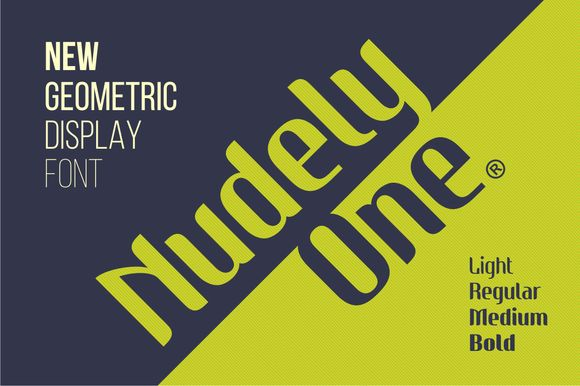 Check out Nudely - 8 Fonts by Vast on Creative Market