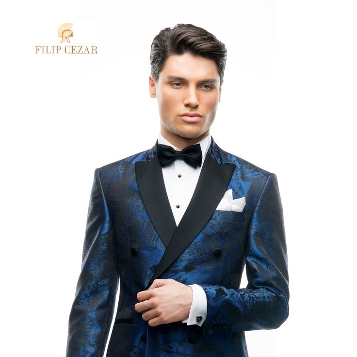 Costum de ceremonie la comandă Filip Cezar New York  http://www.filipcezar.com/ro/6-costume-barbati #FilipCezar #Costume #Bespoke #Blue