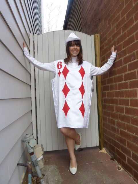 playing card dresses | ... of cards c cards w white pack of cards fairytale costume playing cards: