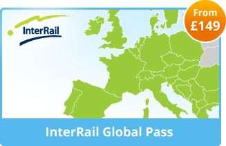 interrail pass for 259 euros for 15 days