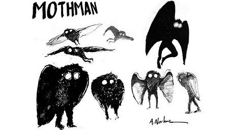 mothman | anniversary of the first publicized sighting of the infamous Mothman ...