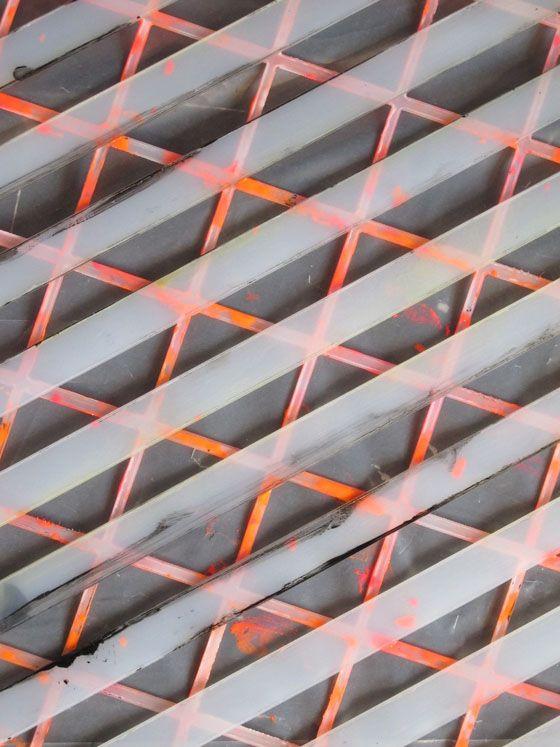 Neon Cross Hatch