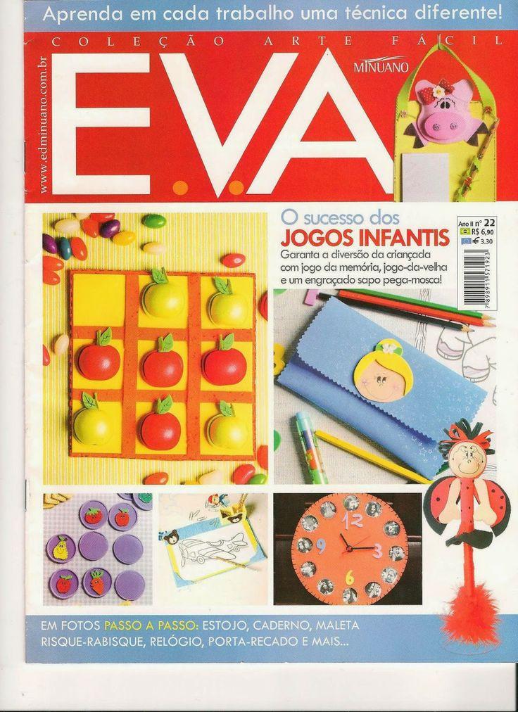 Artesanato com amor...by Lu Guimarães: Revista Arte Fácil EVA n 22