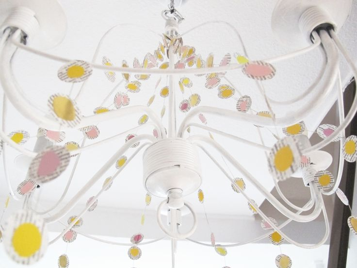 Simple Leuchter Lampe Ikea Hack Upcycling Recycling Diy Basteln