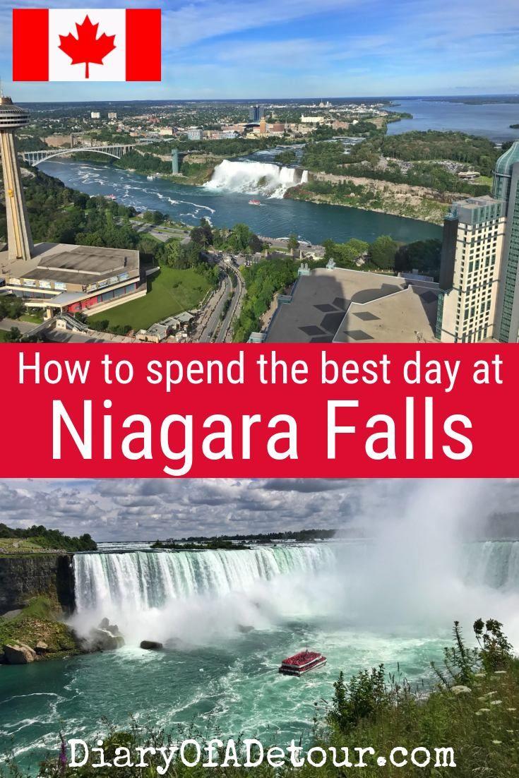 Niagara Falls In A Day Top Tips And Ideas Diary Of A Detour Ontario Canada Travel Niagara Falls Vacation Canada Travel