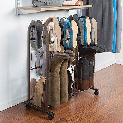 como organizar botas