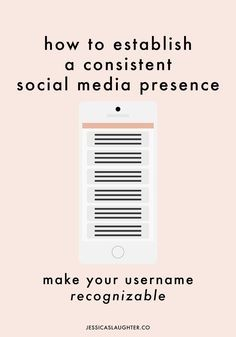Establishing A Consistent Social Media Presence