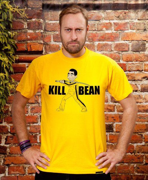 Kill Bean funny tshirt mens funny Tshirt boyfriend by store365