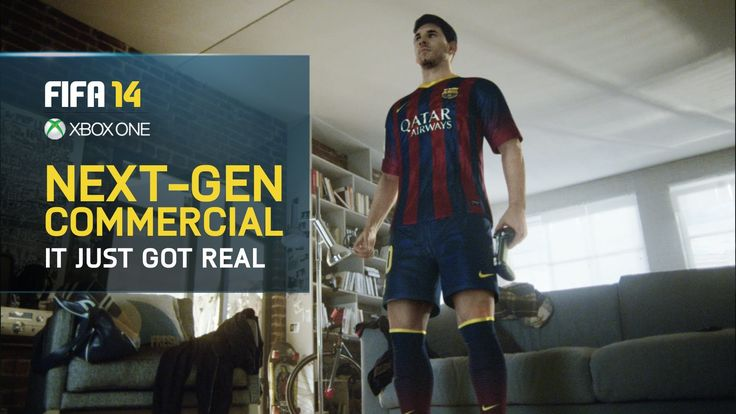 "Electronic Arts - FIFA 14 ""Life Size Messi"" From Wieden + Kennedy / Amsterdam, RESN / Wellington,  Assembly / Auckland @Wieden+Kennedy Amsterdam"
