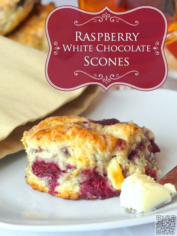 Ed Baines' Raspberry Scones Recipe — Dishmaps