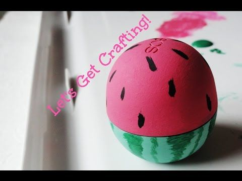 DIY: EOS Watermelon Decor, My Crafts and DIY Projects