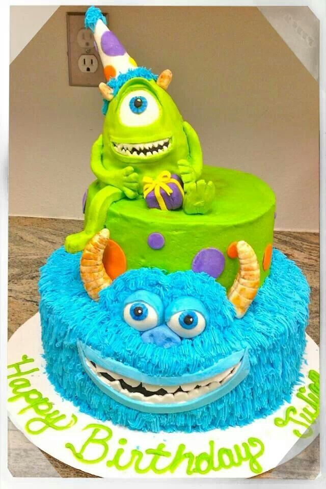 monsters university cake ideas