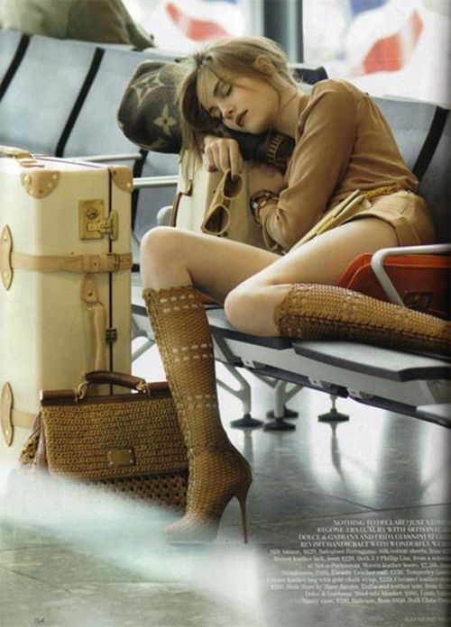 traveler: Louis Vuitton, Airports Chic, Travel In Style, Leather Boots, Travel Accessories, Vogue Uk, Airports Outfits, Travel Style, Jets Lag
