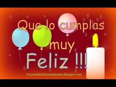 Tarjetas felicitación Gratis - Feliz Cumpleaños | Etiquetate.net - YouTube