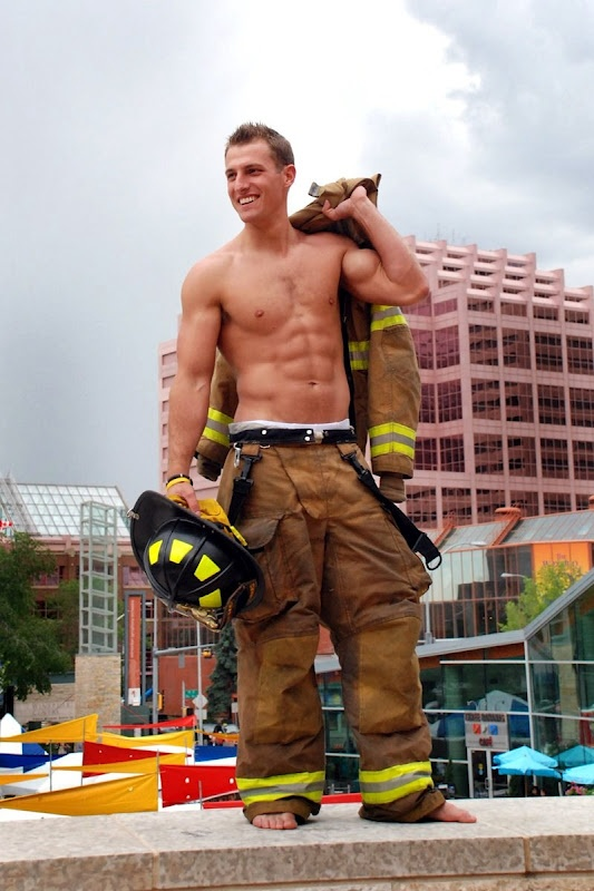 Hunky, Muscular, Shirtless Firefighter #ChicagoFire | Men ...