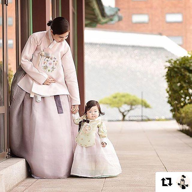 #happychuseok <<^^ 해피추석되세요~~ . . . . #Hanboklynn#한복린#신라호텔 #여아돌복#돌복