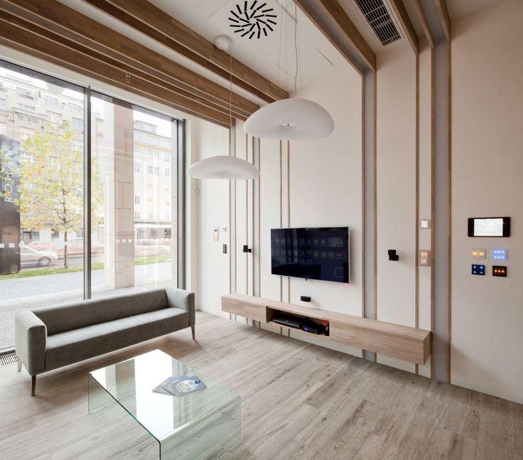 Bistro využívá moderní technologie chytrého řízení budov.