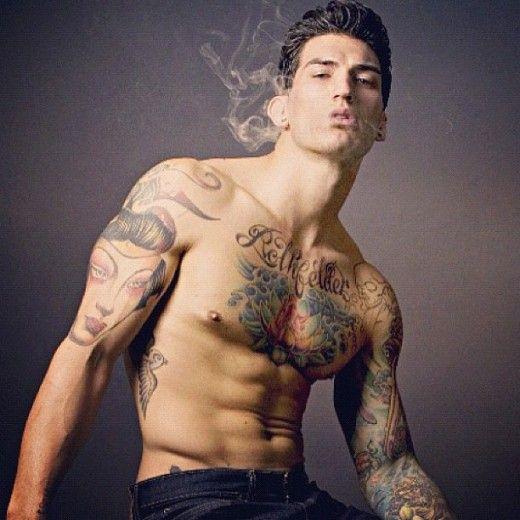 Follow me at: http://www.welovebeauties.com/tattoo-men/