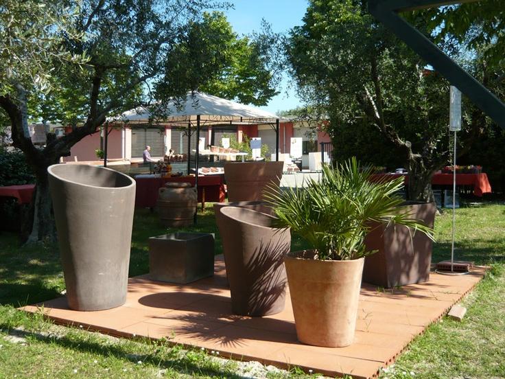 La piazzola dei vasi moderni