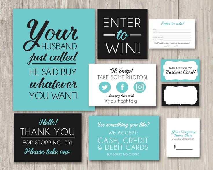 Vendor Table Kit, Craft Table Kit, Table Signs, Vendor Fair Table Decor, Printable Signs, Enter to Win, Oh Snap, Thank you Signs | Printable by ThePaperVioletShoppe on Etsy https://www.etsy.com/listing/278626614/vendor-table-kit-craft-table-kit-table