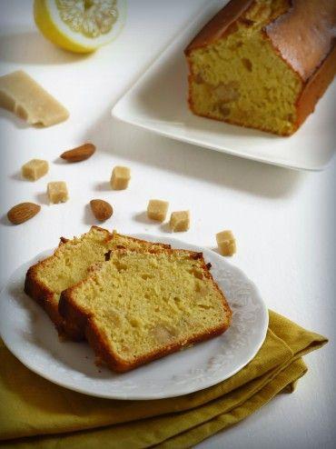 Cake au citron et à la pâte d'amande