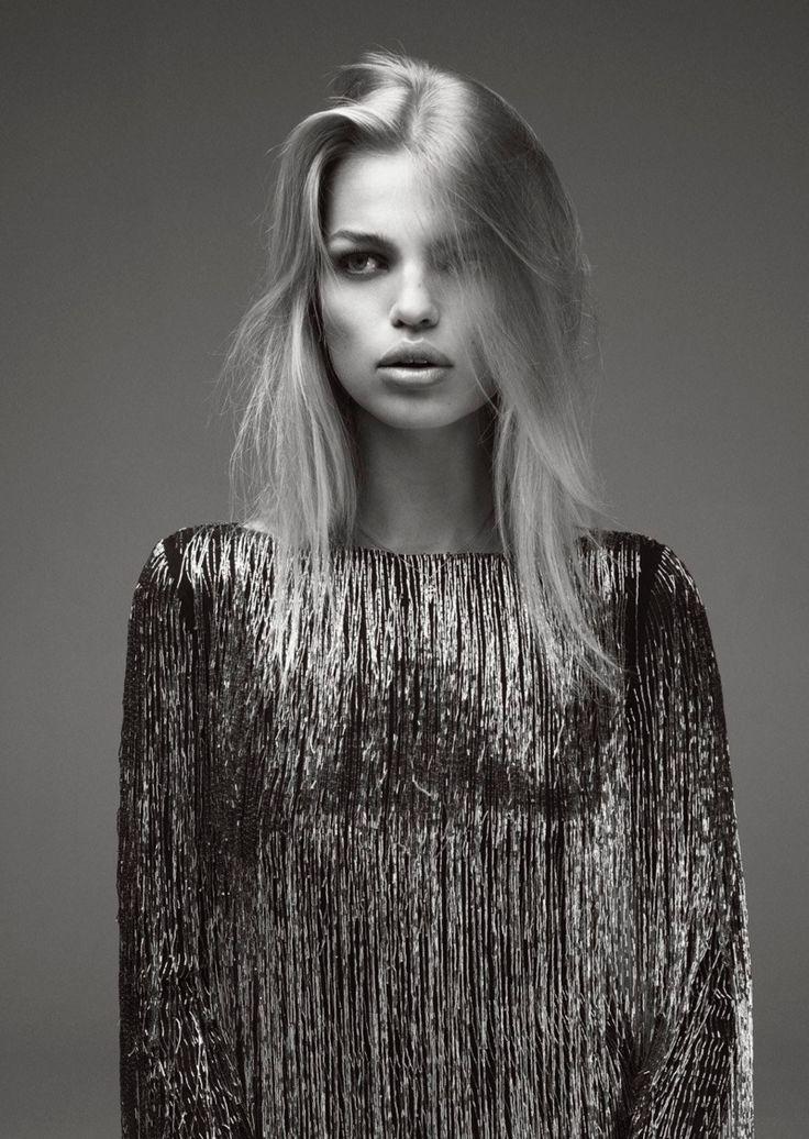 Daphne Groeneveld @DaphneGrnvld by Bojana Tatarska @bojanatatarska for Glass @glassmagazine Fall 2015 #light #hair #color
