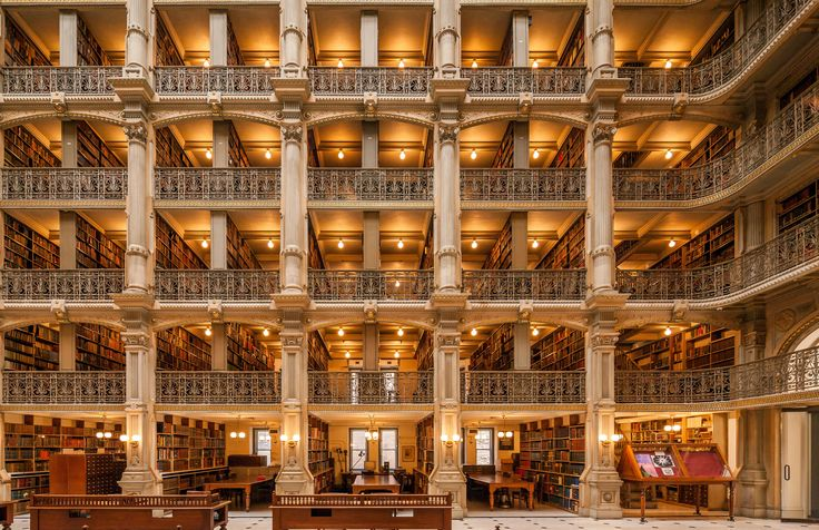 The most beautiful libraries in America – in pictures