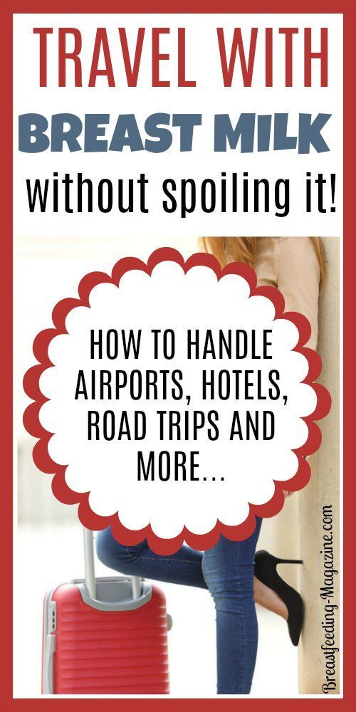 How to travel with breast milk without letting it spoil! Tips for road trips, hotel stays, air travel and more.