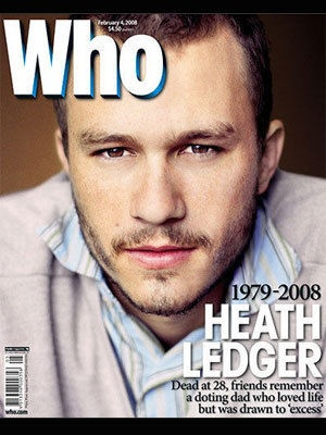 WHO Magazine's iconic covers: Heath Ledger remembered - 2008