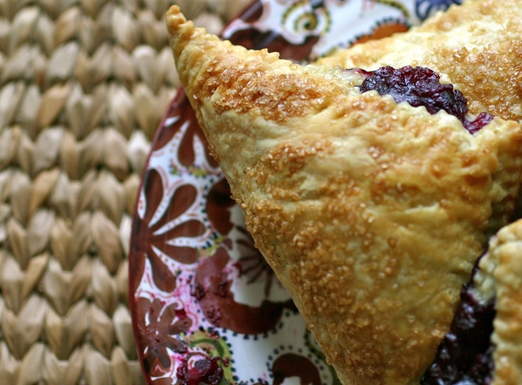 Blueberry and Meyer Lemon Hand Pies from blackberries and bloodoranges. Cool name, tasty pie.