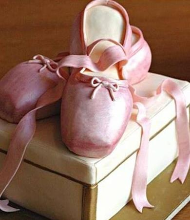 ballet cake!susan l. Could you do this!!?