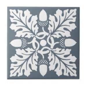 art nouveau oak leaf tile - - Yahoo Image Search Results