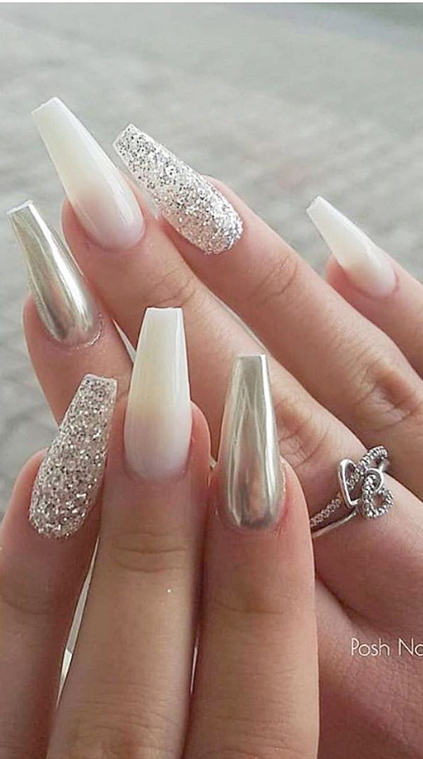 Home Blend Of Bites White Acrylic Nails Acrylic Nail Designs New Nail Designs