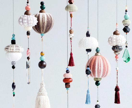 Frederikke Aagaard urchin mobiles  find at http://frederikkeaagaard.com/collections/shop