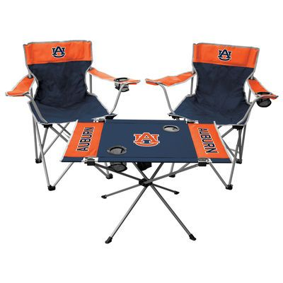 Rawlings Auburn Tigers Tailgate Chair And Table Set