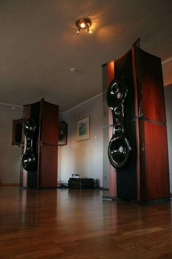 High end audio audiophile speakers