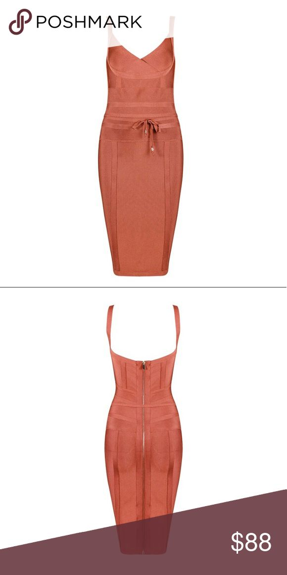 """The """"Melissa"""" 💎Rust Bandage Dress💎 💎Available in size: S, M, L💎 💎Premium Quality💎 💎Please refer to size chart for correct sizing💎 💎NO Offers/Trades💎 💎ALL SALES ARE FINAL💎 Chic By Nathalie Dresses Mini"""