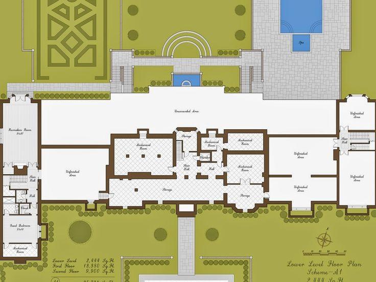 Best 25 Mansion Floor Plans Ideas On Pinterest