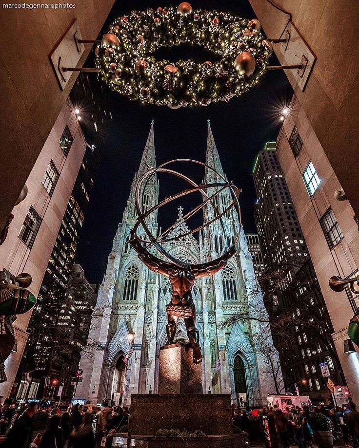 Saint Patricks Cathedral by Marco Degennaro Photography by newyorkcityfeelings.com - The Best Photos and Videos of New York City including the Statue of Liberty Brooklyn Bridge Central Park Empire State Building Chrysler Building and other popular New York places and attractions.