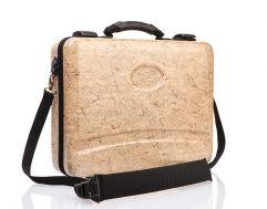 Hanf-Laptop-Koffer (Hanf/Kenaf/Flachs)