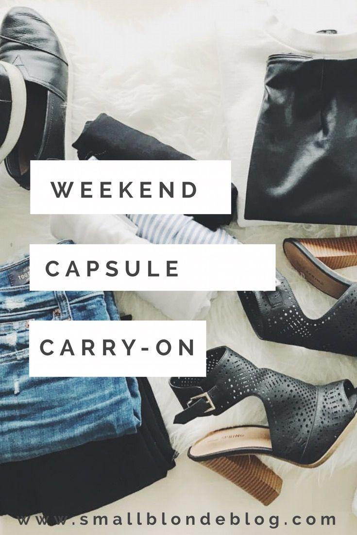 how to plan eight outfits out of 12 pieces + travel with just a carry-on // www.smallblondeblog.com