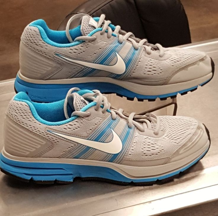 Women's Nike Zoom Pegasus 29 Running Shoes Sneakers Size 10 Gray Blue  524981 014 | Clothing