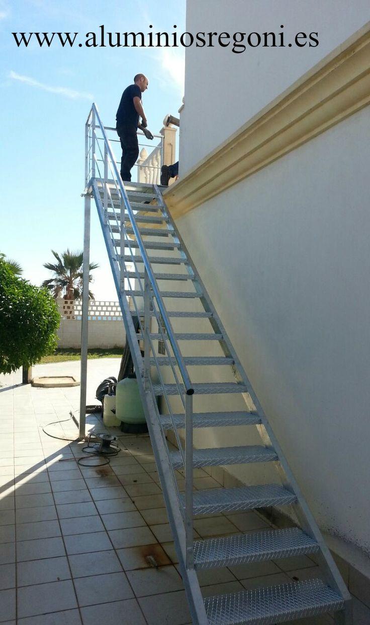 M s de 25 ideas incre bles sobre escalera de hierro en for Planos de escaleras de hierro