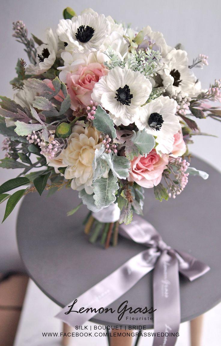 79 best silk flower bouquets images on pinterest silk flower facebooklemongrasswedding flower bride bouquet lemongrasswedding dhlflorist Gallery