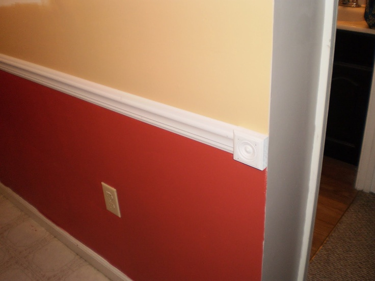 1000 Images About Chair Rails On Pinterest
