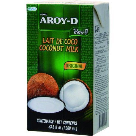 Kokosové mlieko sa vyrába z dužiny orecha.  Keďže kokosové mlieko sa nedá na dlhú dobu homogenizovať, preto sa časom tuk oddelí od vody. Preto je pred použití vhodné mlieko dobre pretrepať. Kvalitné kokosové mlieko obsahuje len kokosový výťažok a vodu. Využitie v kuchyni je veľmi široké. Používa sa do polievok, hlavných jedál, do dezertov a omáčok, ale aj ako surovina do mnohých kokteilov (napr. Pina Colada).  Zloženie: 60% kokosový výťažok, 40% voda